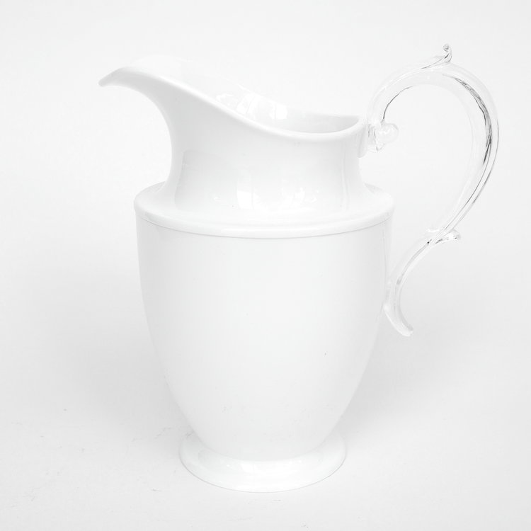 White Federica Pitcher