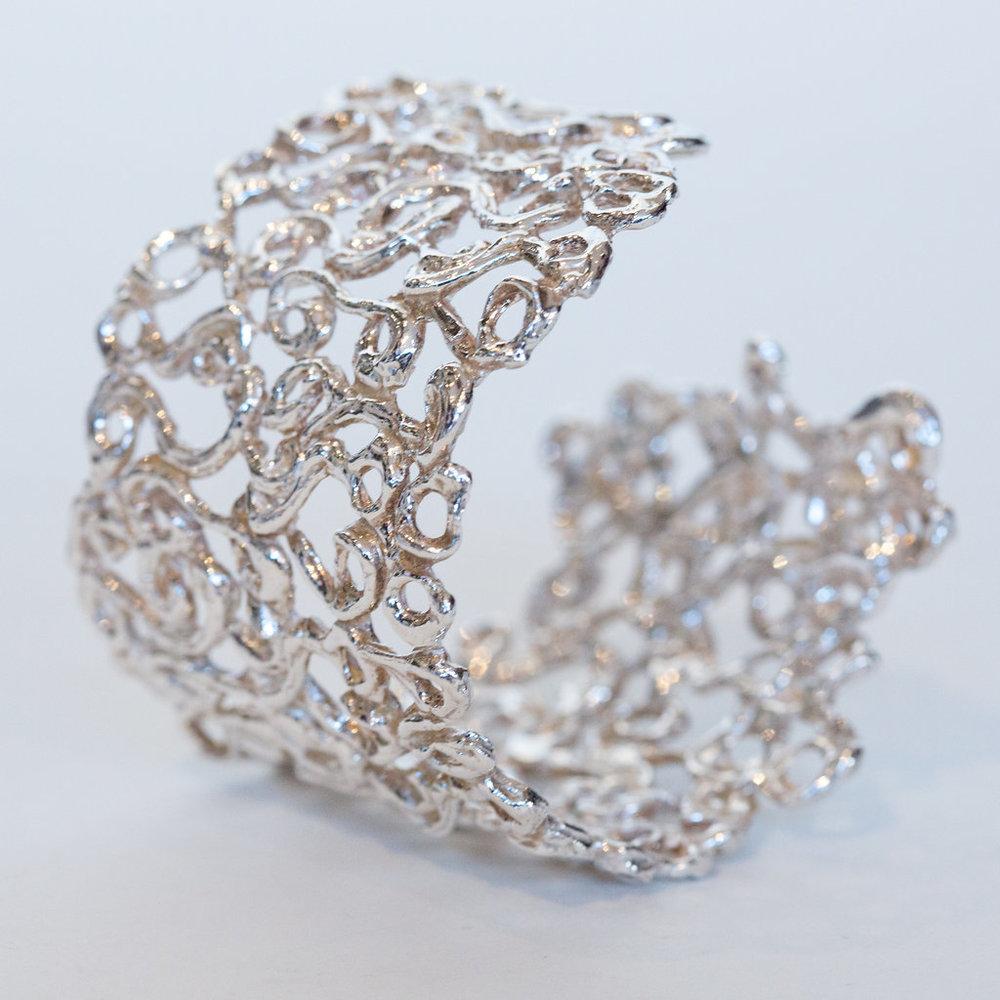 Ornamental Swirls Cuff