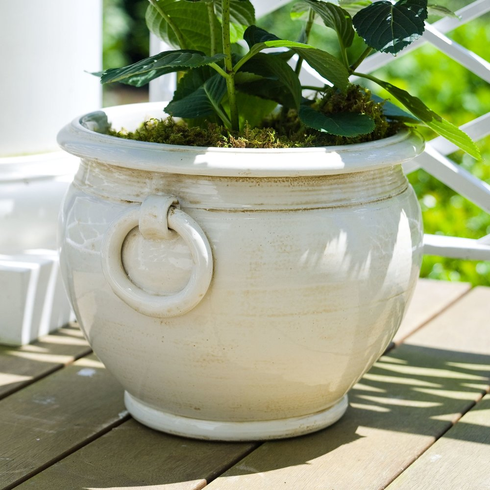 Ring-Handled Planter