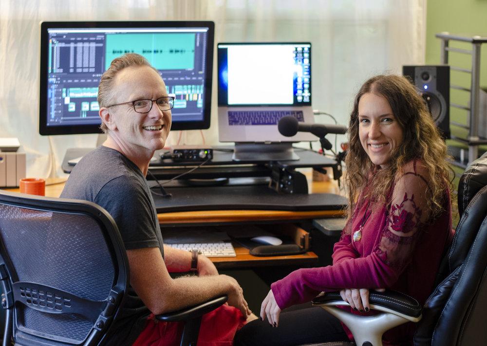 Rob Collins & Ashley Hall