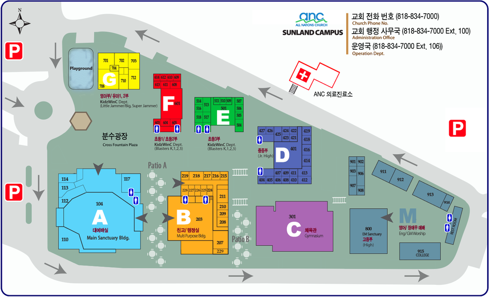 ANC Campus Map