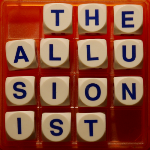 The Allusionist is a podcast about language and etymology by Helen Zaltzman for Radiotopia from PRX. New episodes arrive fortnightly on Wednesdays.