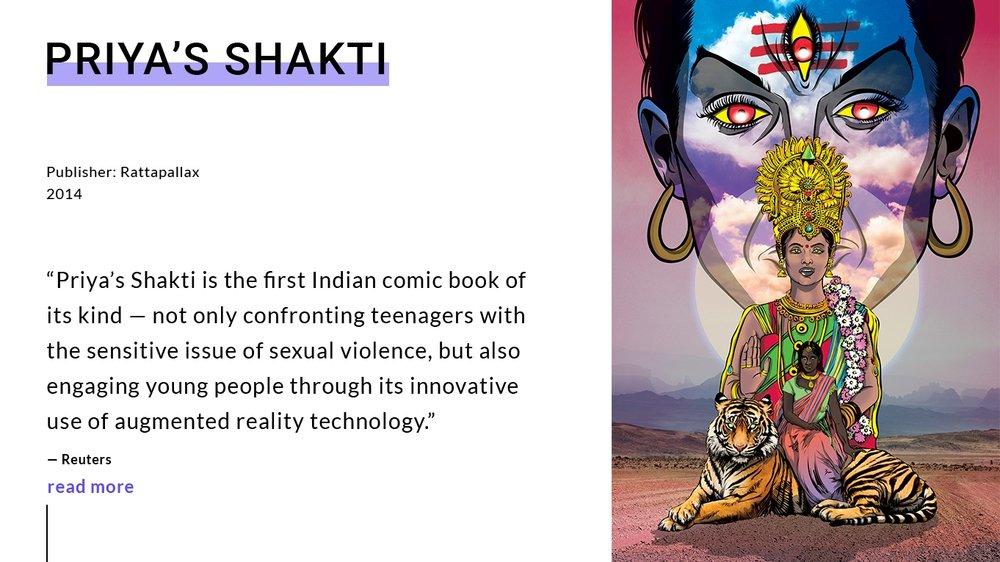 Priya's Shakti Comic Books