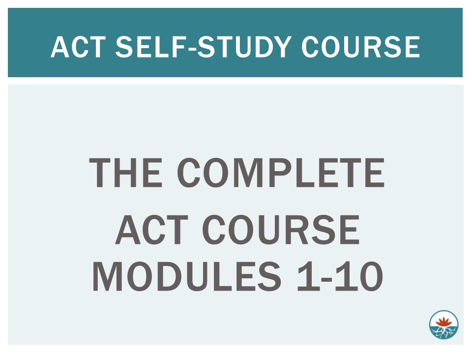 ACT Package Modules 1-10