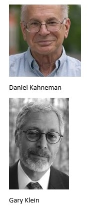 Kahneman and Klein