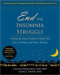End the Insomnia Struggle Bookcover
