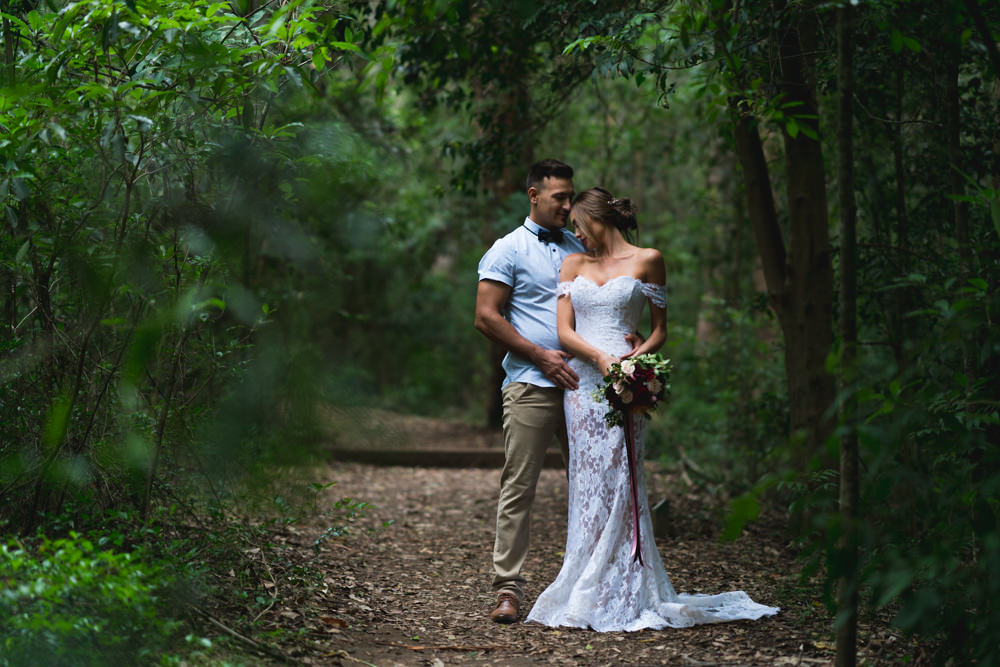 Bec and Kyle - Cumberland Forest