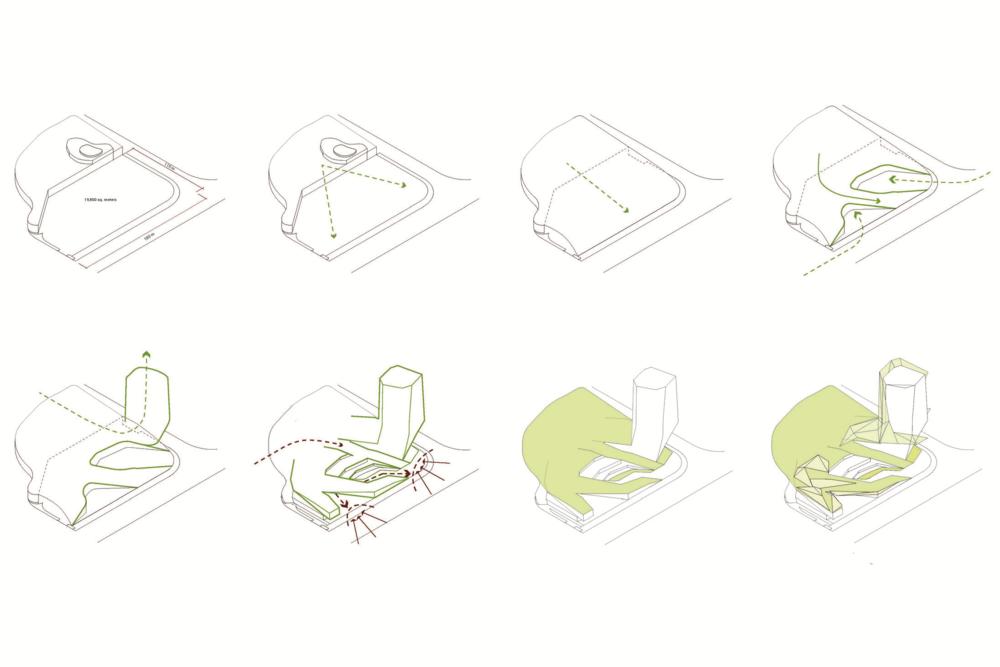 massing diagrams