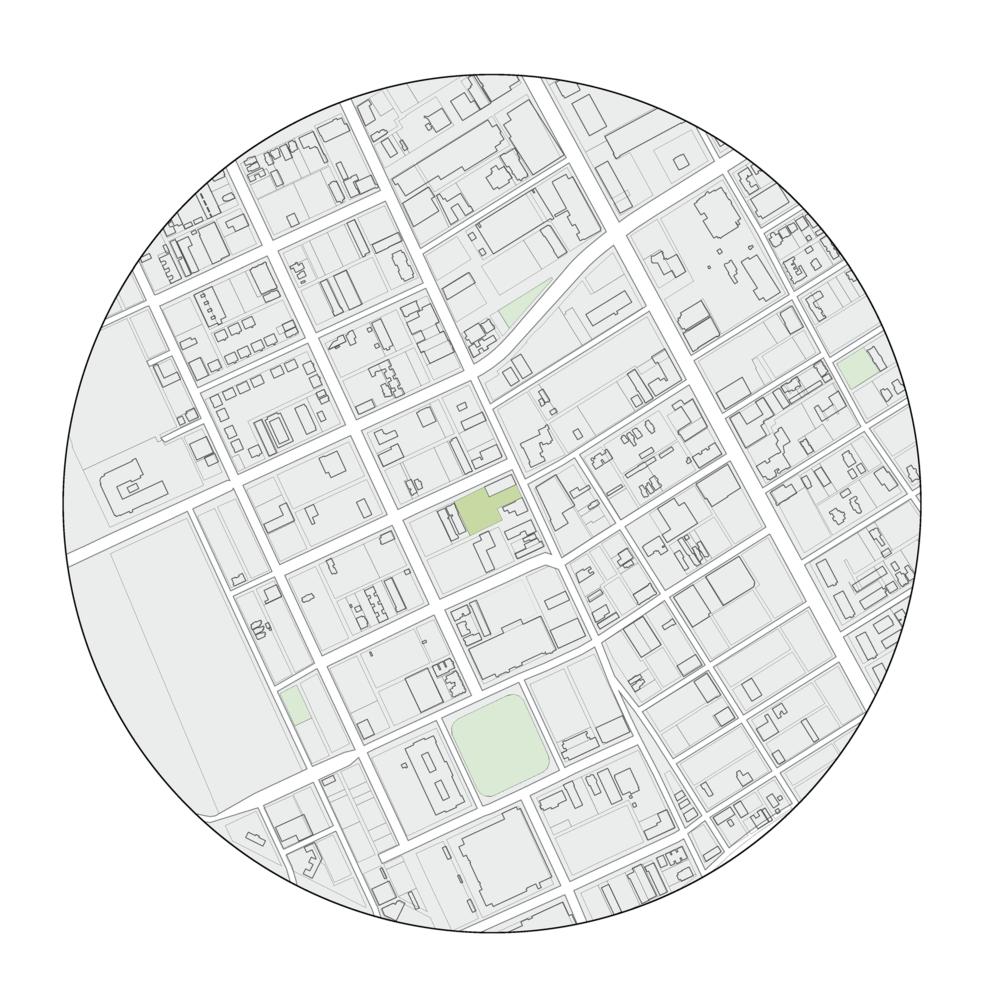 site context plan - midtown detroit