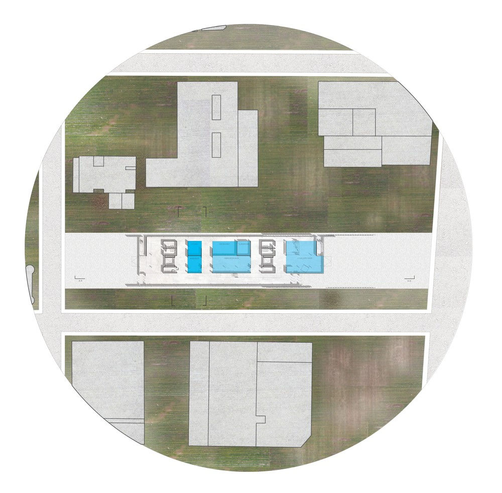 site / ground floor plan