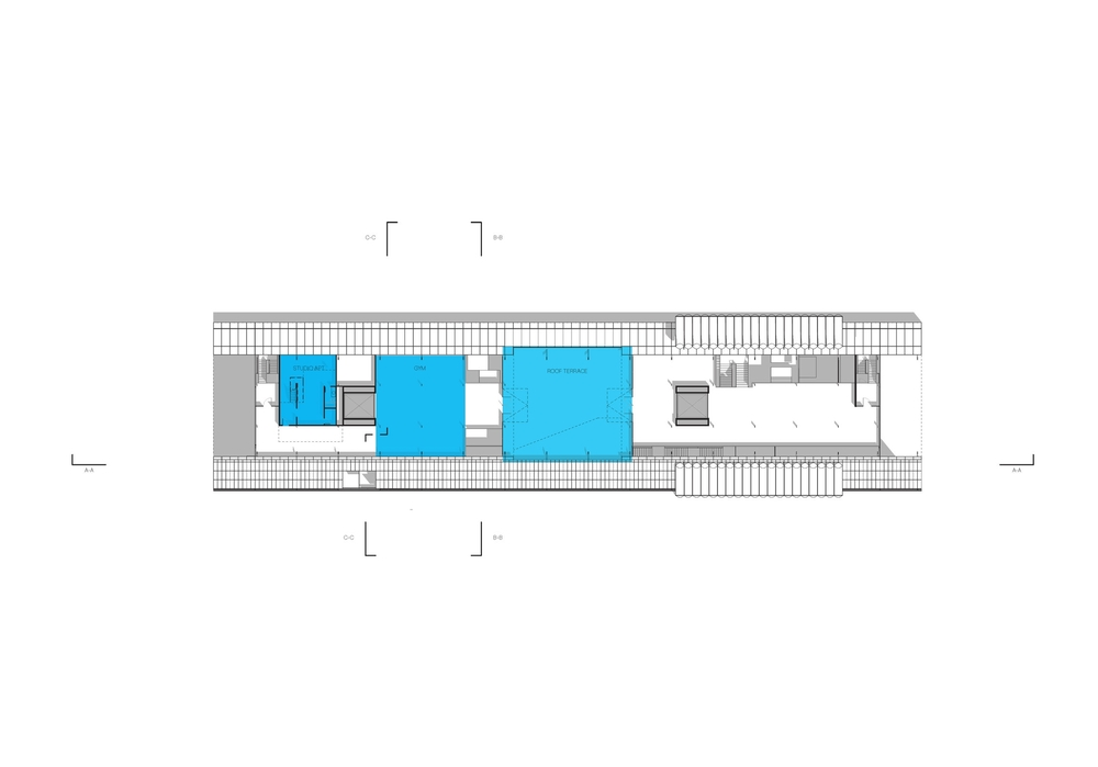 sixth floor plan