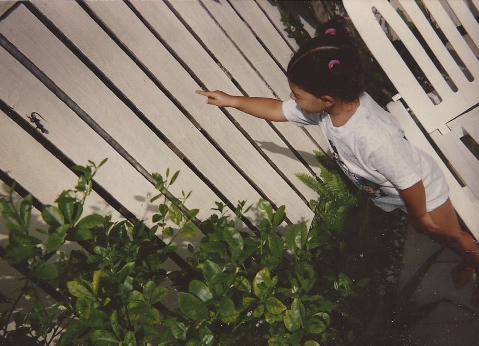 Me as a toddler, gecko-spotting in Florida. A wildlife aficionado from the start....  This two-part story is all about searching for and understanding childhood relics like this.