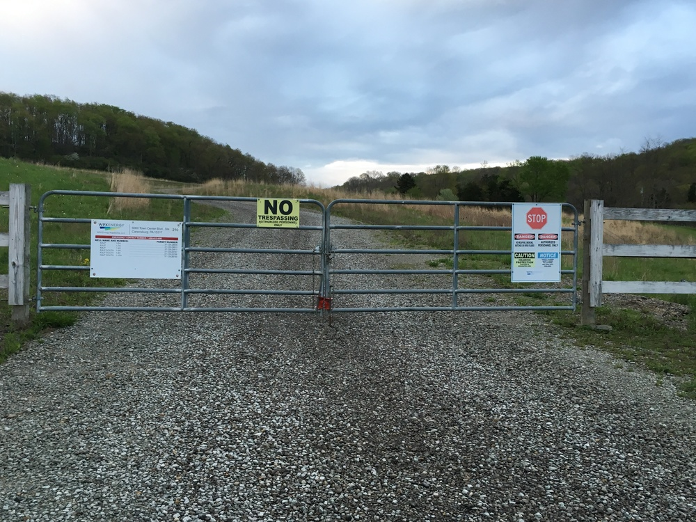 The entrance to WXP Energy Appalachia, LLC's Kalp 1-9H well. Credit: Erica Cirino