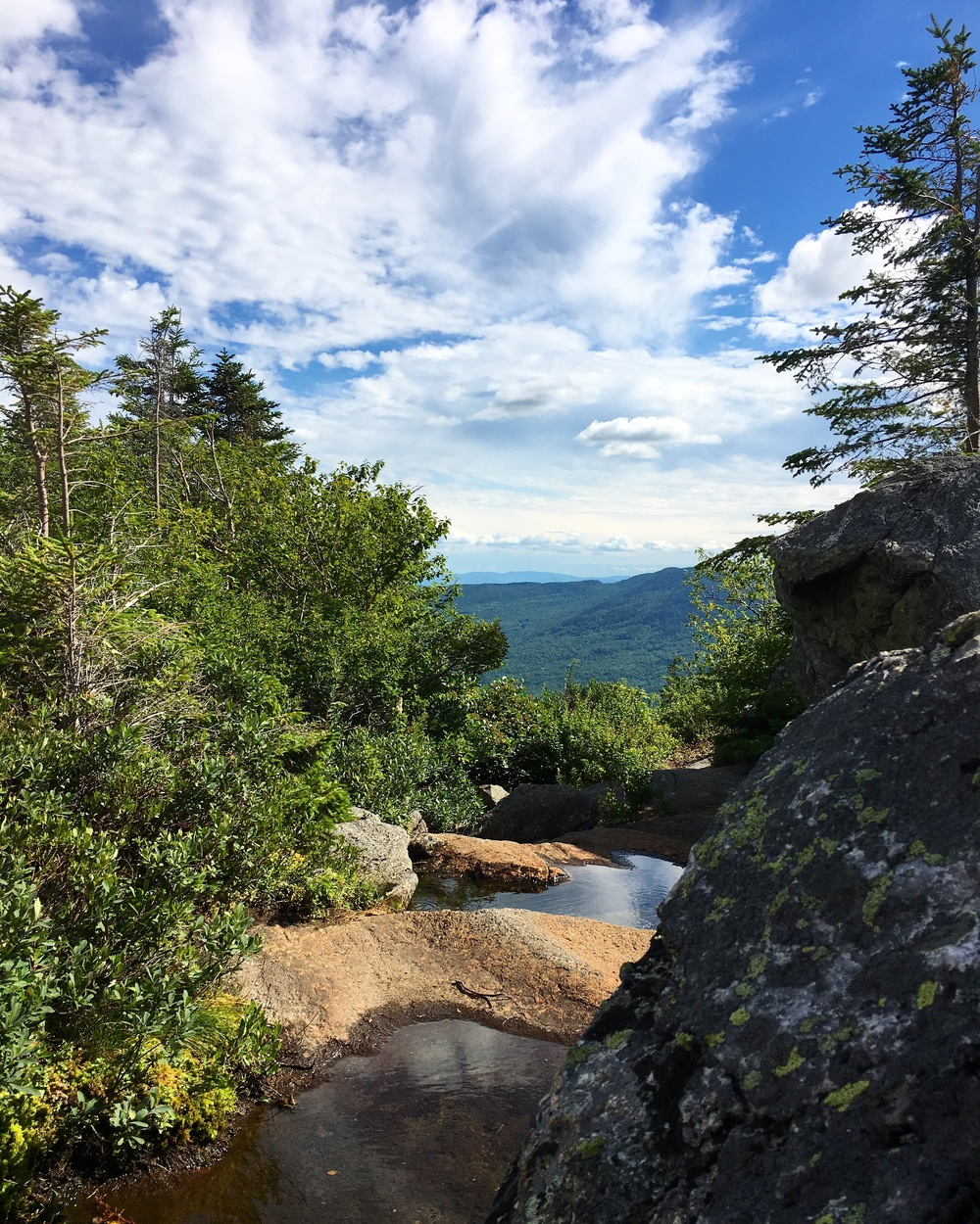 DAY 3: Appreciating the View Atop Tumbledown Mountain