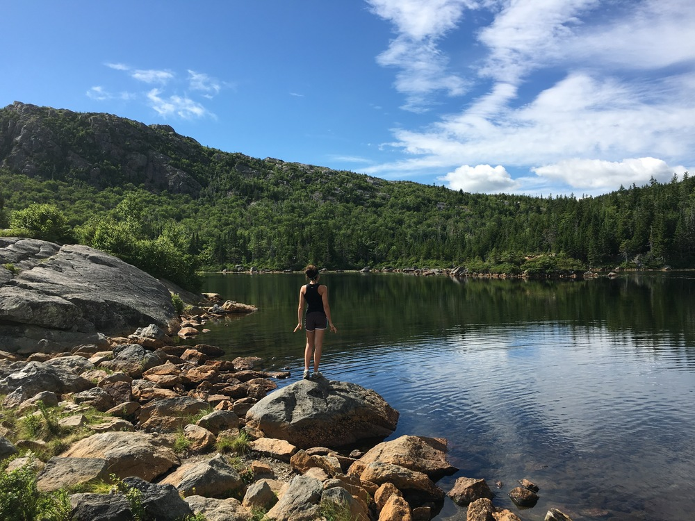 DAY 3: There is a Lake Atop Tumbledown Mountain