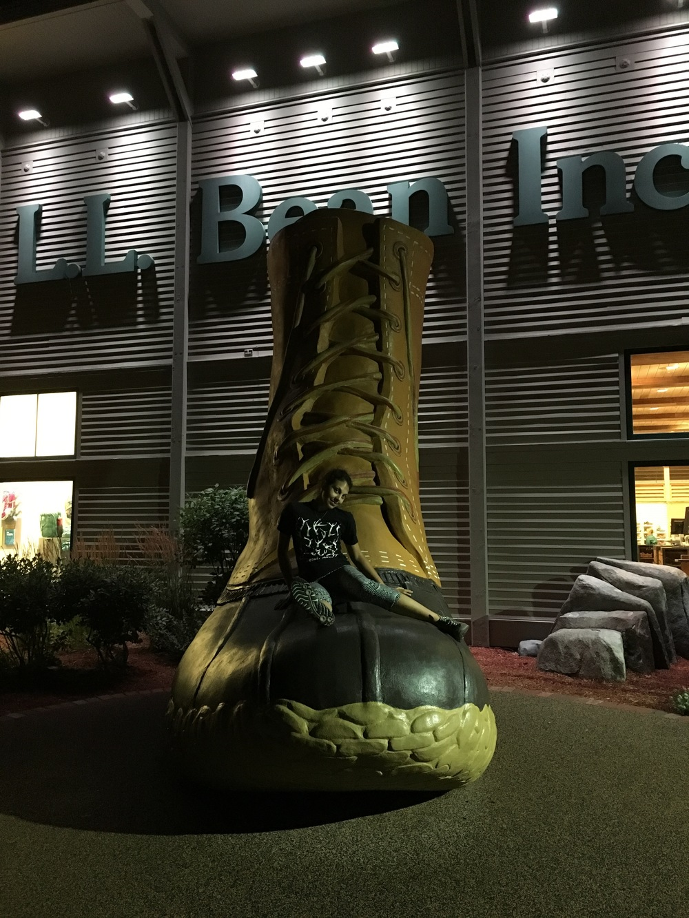 "DAY 1: The LL Bean ""BOOT"""