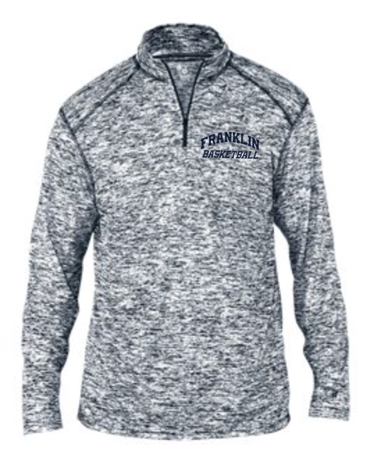 Franklin Basketball Grey 1/4 Zip - From $35