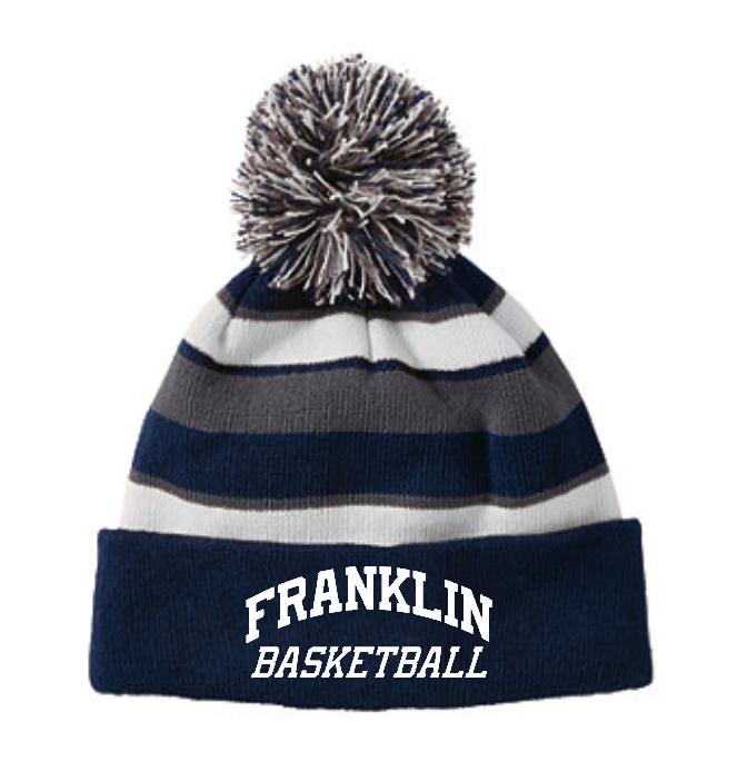 Basketball Pom Beanie - $25