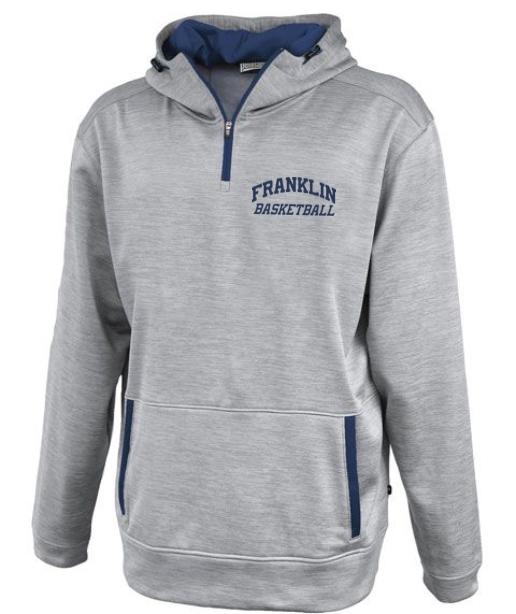 1/4 Zip Hooded Sweatshirt - From $45