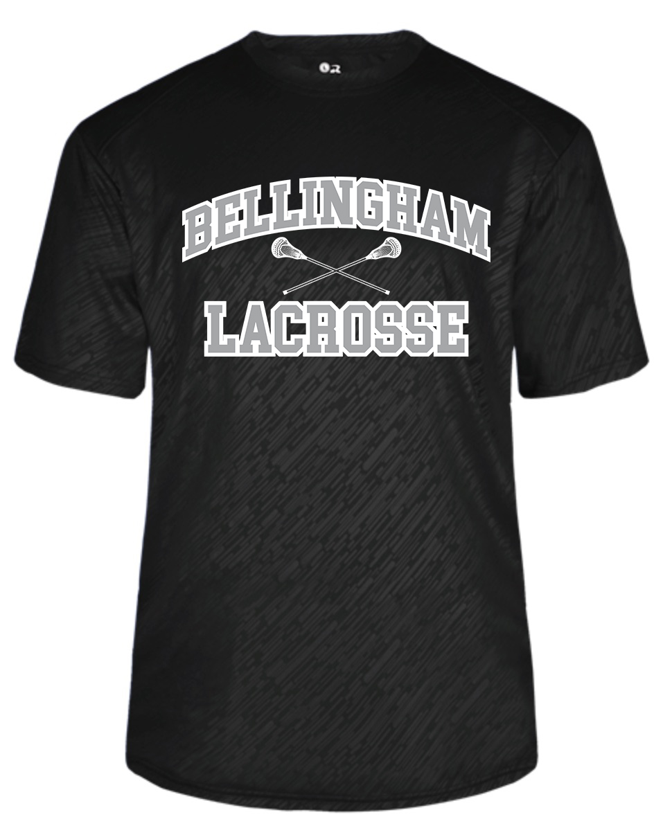 Bellingham Lacrosse Performance Embossed Tee - From $25