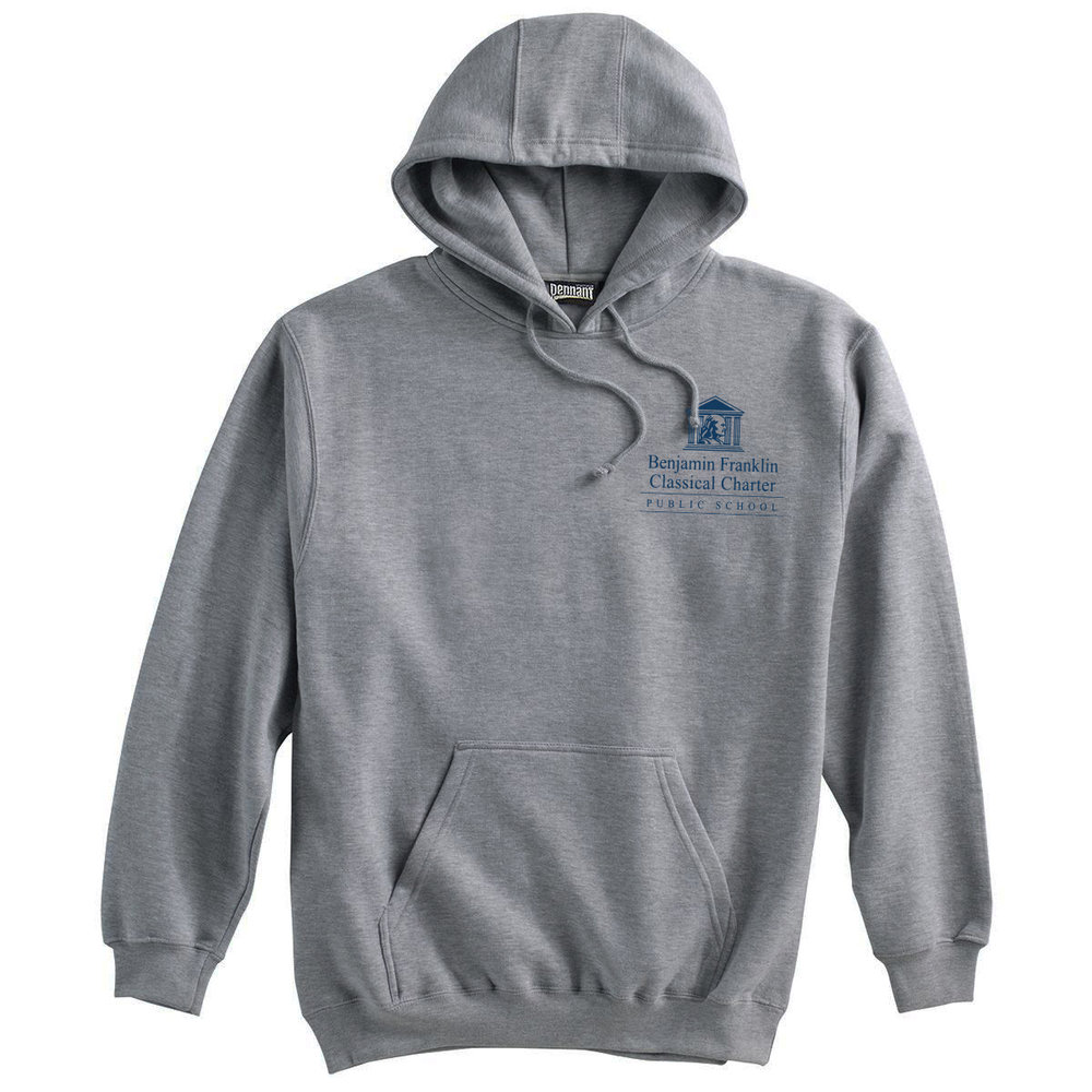Grey Hooded Sweatshirt - From $35