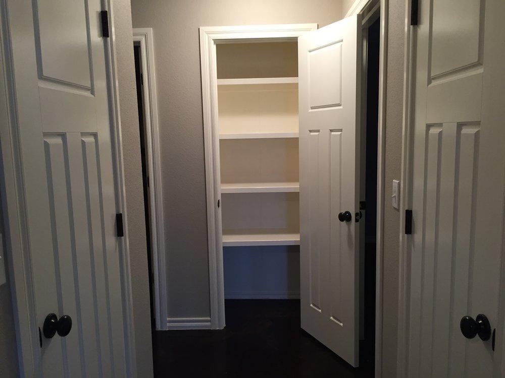 3444 Chelsea Bungalow Storage Closet 1