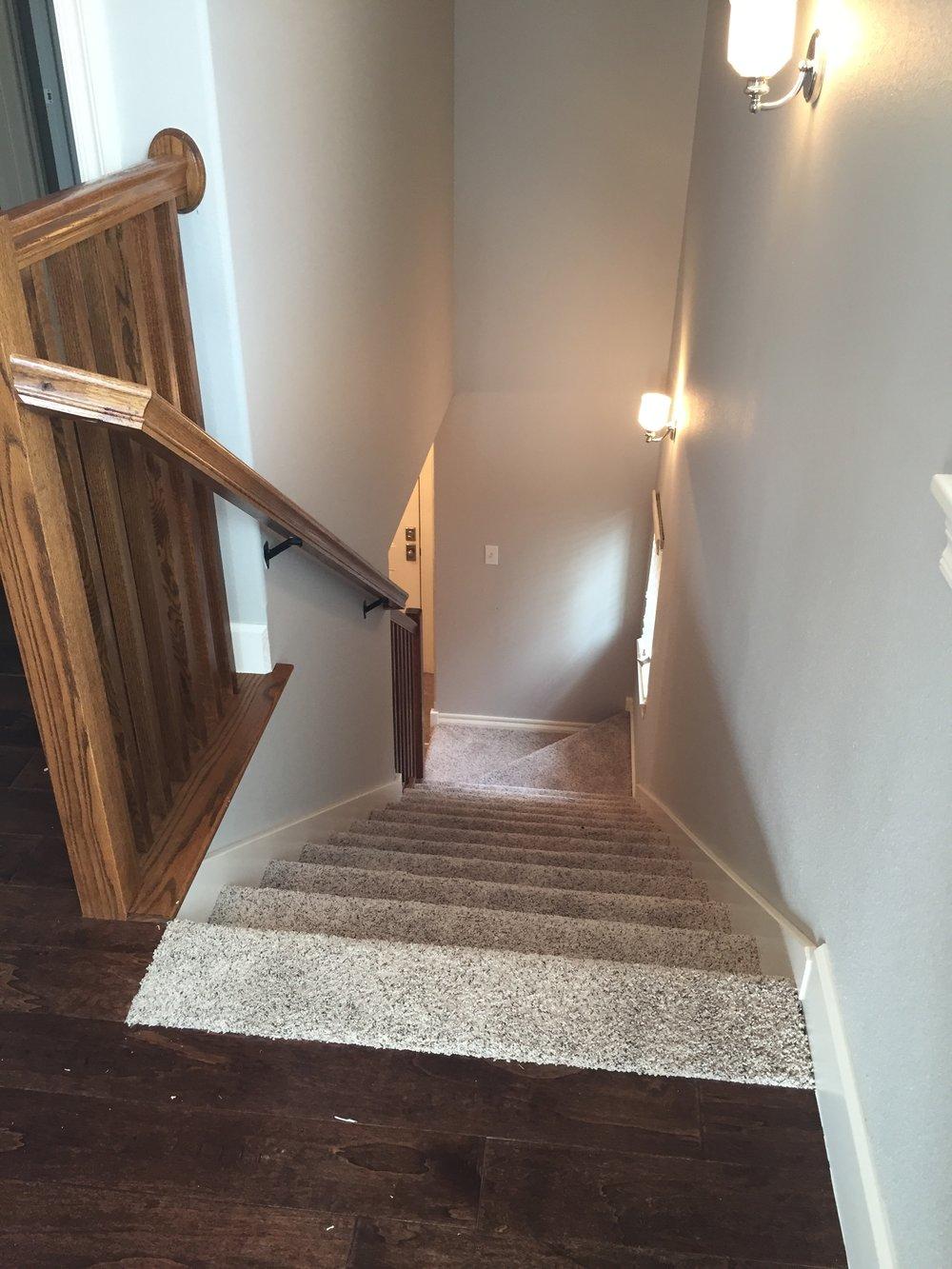 Delancey stair down