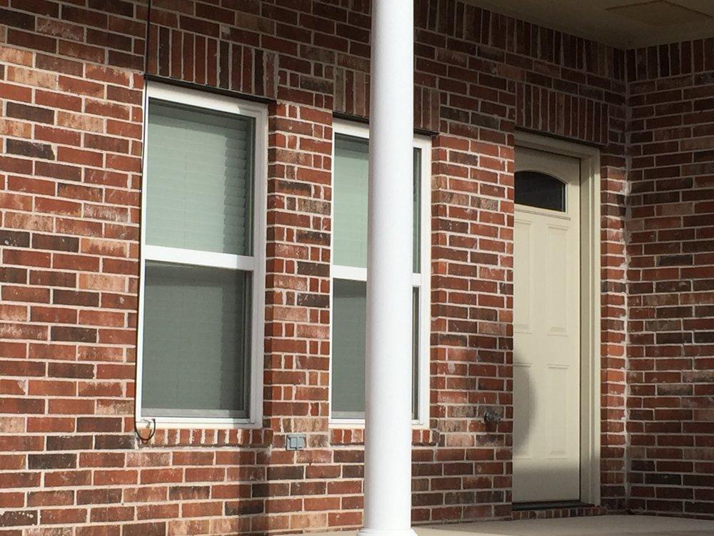 Back door exterior