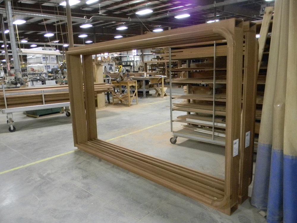 Large Frames for Custom Windows