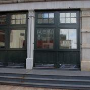 Six large historic windows