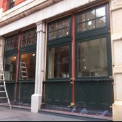 Custom Windows for Tribeca Storefront