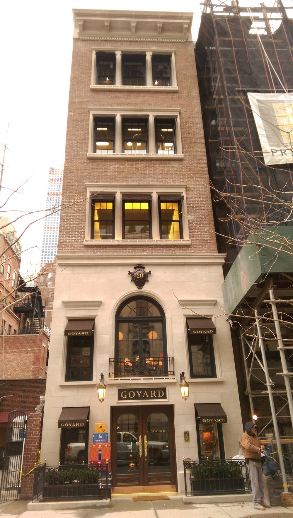 Custom Windows of the Goyard Building