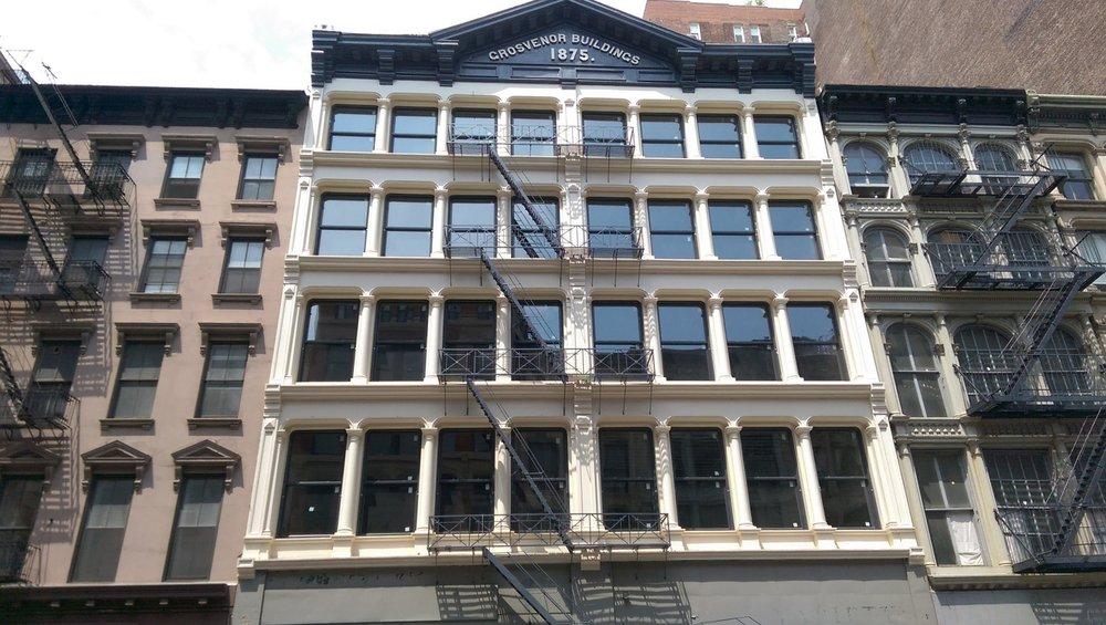 Grosvenor Building Windows