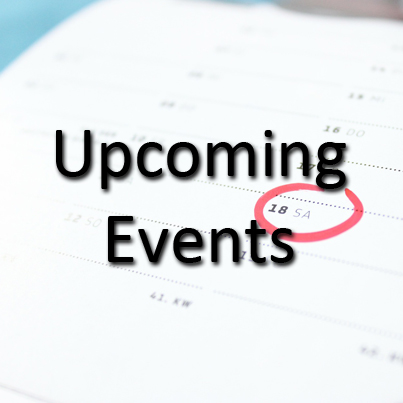 Upcoming Events   See what's happening in your area.