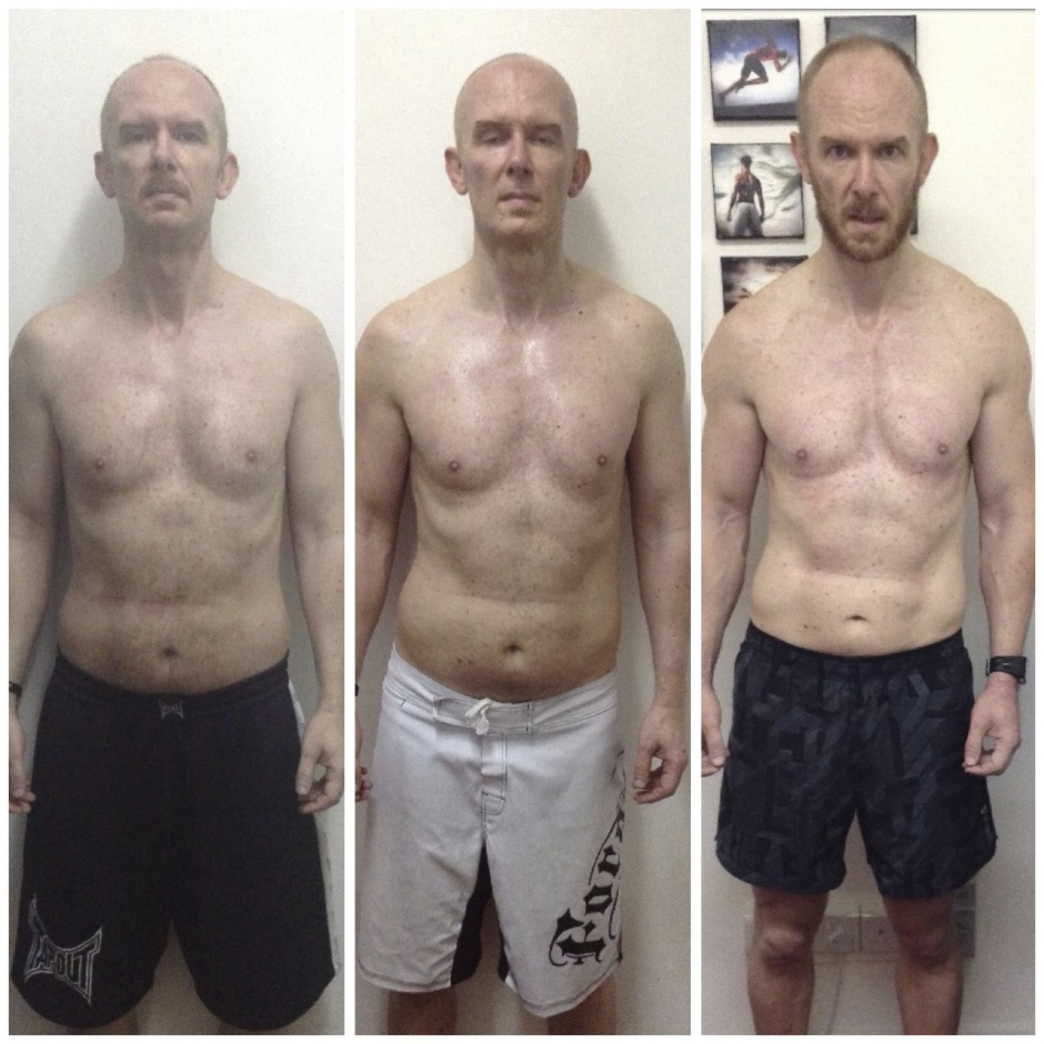 After Doing A Body Transformation Program With UFIT Coaches Lawrence James And Entering The CleanLean Challenge He Dropped To 89kg