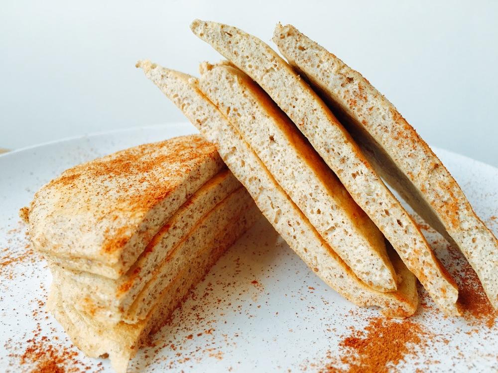 UFIT Lemon Chia Pancakes