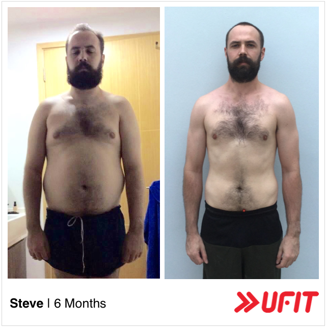 Steve Chapman body transformation 1
