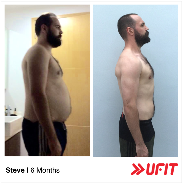 Steve Chapman body transformation 2