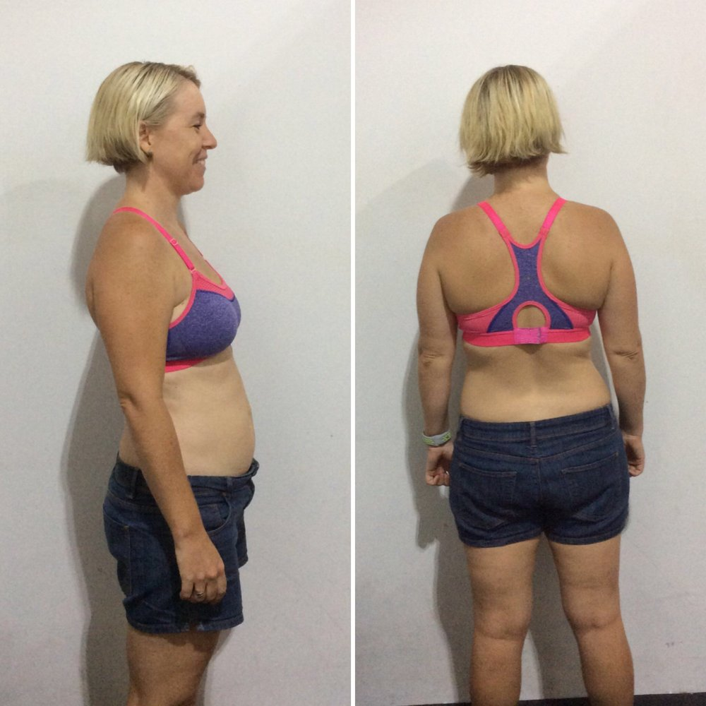 Robyn before the UFIT Body Transformation Program - xjg and x% body fat