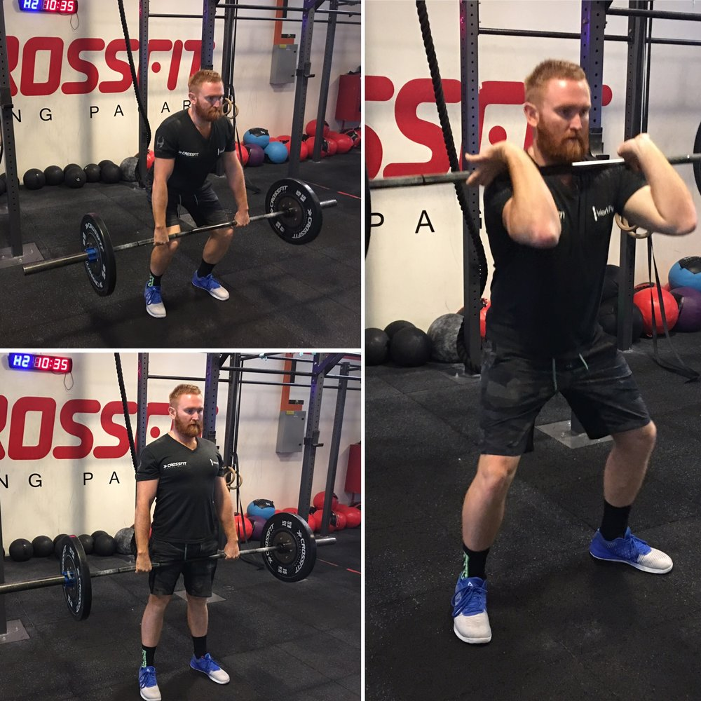 1. The Power Clean - Olympic weightlifting is a fantastic way to develop explosive strength, muscle mass and power. Viewed as a shoulder workout the clean also builds muscle development in the legs, lats and overall posterior chain. -