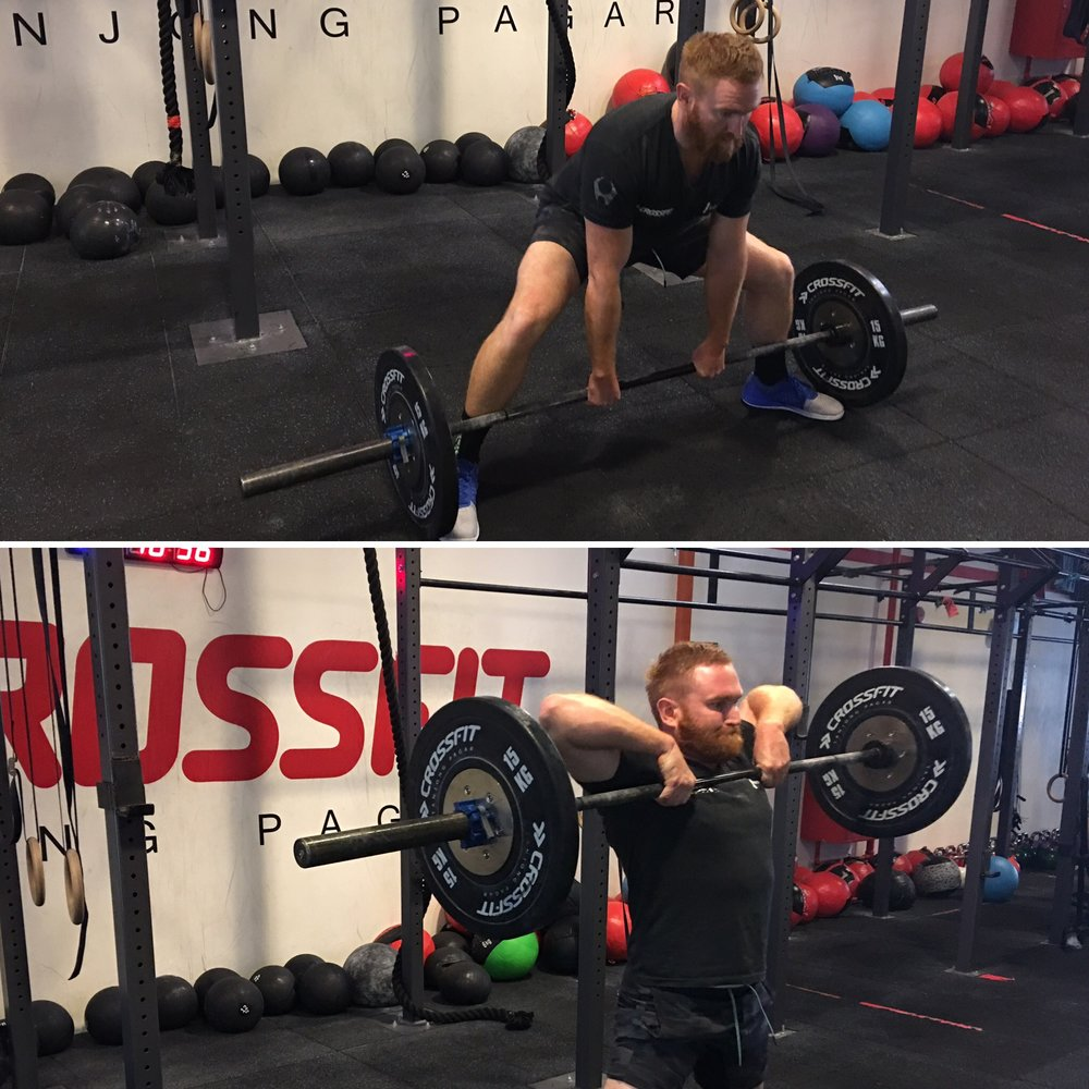 3. Sumo deadlift highpulls help you develop power in the posterior chain, strengthening the hamstrings, glutes, lower back and upper back.  -