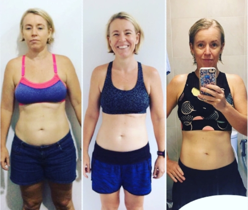 "- ""I was doing HIIT classes up to 4 times a week, and although was getting fit, I wasn't able to shift the weight I gained since having my daughter, and wanted to tone and build muscle and reduce my body fat.My husband and I decided to do this together as a team goal/lifestyle change.The results have absolutely met my expectations and much much more. I didn't expect to get these results so quickly, I thought I would struggle but once I saw results I wanted to see more and that drove me on""."