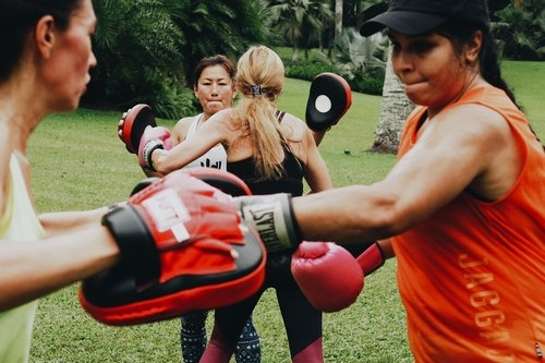 BOXFIT  A full body cardio workout that conditions your entire body and provides increased agility, speed, coordination and endurance.  Botanic Gardens ,  Marina Bay ,  CCAB Track ,  Fort Canning ,  East Coast Park ,  Robertson Quay