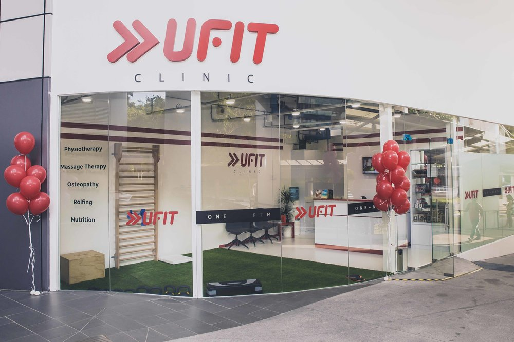 Email   u  fitclinic@ufit.com.sg    Phone  (+65) 6265 6643   Opening hours   Monday – Friday: 8AM – 8PM  Saturday: 8AM – 1PM  Sunday: Closed   Location   01-02 Galaxis Building, Level 1 Fusionpolis way, Singapore, 138632