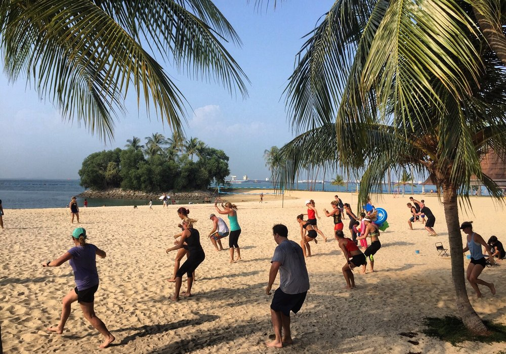 Sweat it out Sunday at Tanjong Beach Bootcamp