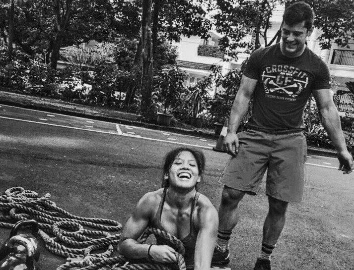 Singapore's Fittest CrossFit PT Couple at UFIT