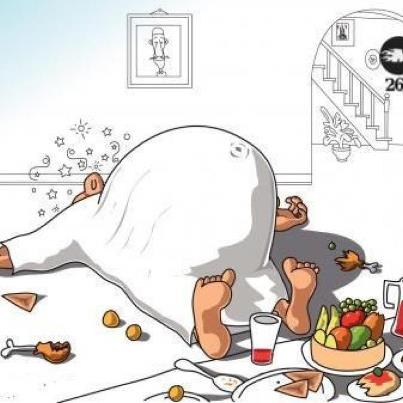 "Gorging on food at night will give you an ""Iftar-belly""!"
