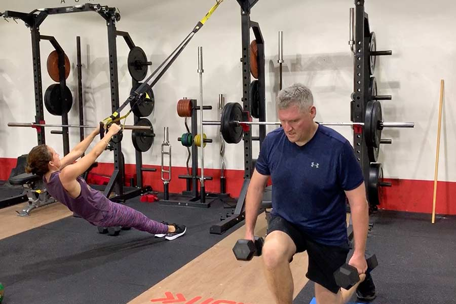 Ufit Body Transformation - Andy and Sally Watson
