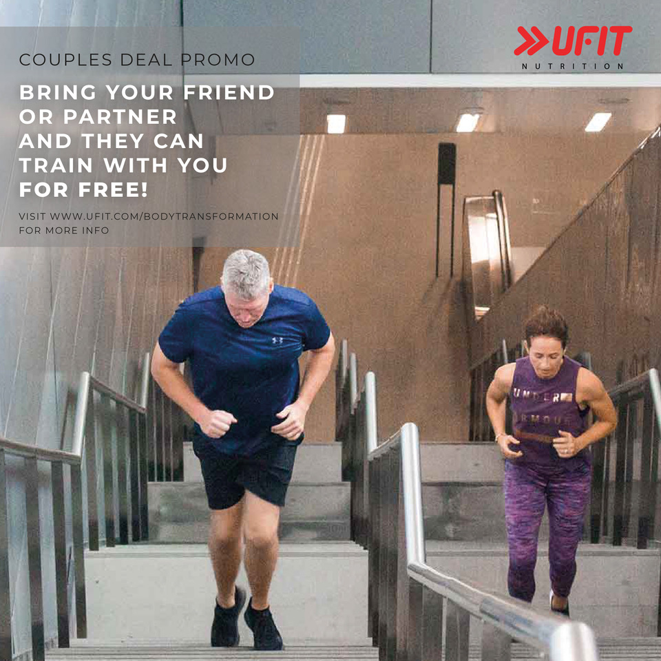 UFIT Body Transformation - Couples Deal Promo