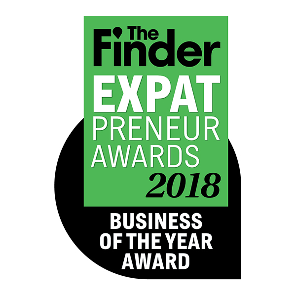 The Finder Singapore  - Expatpreneur Awards 2018 Business of the Year